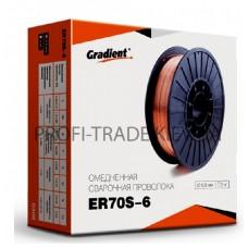 ER70S-6 Проволока сварочная Gradient 1.0мм 5 кг