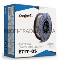 E71T-GS Проволока сварочная Gradient порошковая 0,8мм 1кг