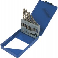 22-090 Набор свёрл по металлу Р6М5 белых 2,0-8,0мм 13 шт (мет. коробка)