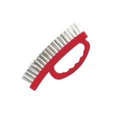 BT-0010 Щетка ручная для зачистки ржавчины 165мм, пластиковый корпус (60/12)