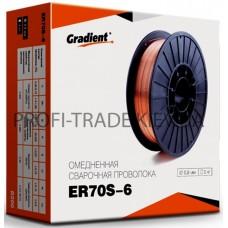 ER70S 08-1 Проволока сварочная Gradient 0.8мм 1кг