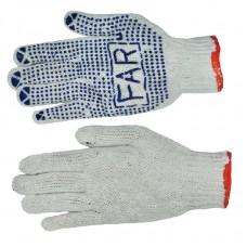 Перчатки простые (плотные)  'FAR' (12/600шт) ПТ-0445