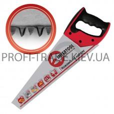 HT-3105 Ножовка по дереву 450 мм с калёным зубом, 3-ст. заточка 7 зуб. * 1'