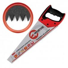 HT-3107 Ножовка по дереву 400мм с тефлоновым покрытием, каленый зуб, 3-ст. заточка (24/6шт)