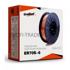 ER70S-6 Проволока сварочная Gradient 0.8мм 2,5кг