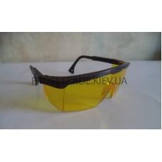 Очки защитные с выдвижными дужками (желтые) ПТ-9636