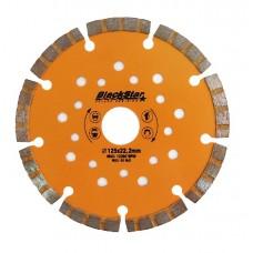 125*22,2 мм Турбо-Сегмент BLACK STAR Диск алмазный 30-12503