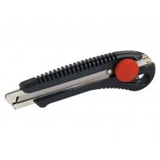 76-183 Нож с металл. направ. 18мм (винтов. фиксат.)