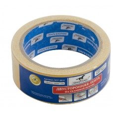 Двустор. лента на ткан. основе 250мкм*50мм25м (36/6) DCT 5025