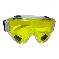 Очки защитные силиконовые большие  ЖЕЛТЫЕ (10шт) ПТ-6632