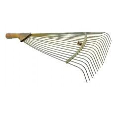 Грабли веерные прутковые с регулир. ширины, 18 прутьев, ЗОЛОТЫЕ ПТ-8779