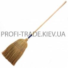 Веник с деревянной ручкой ПТ-9010