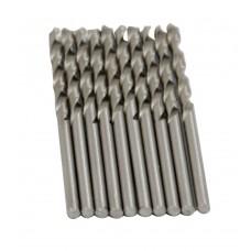 Сверло по металлу HSS, DIN338, 3,8мм  BLACK STAR (100/10шт) 51-00038