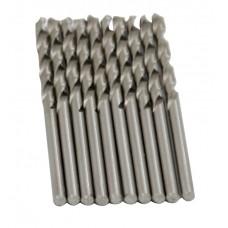 Сверло по металлу HSS, DIN338, 4,5мм BLACK STAR (100/10шт) 51-00045