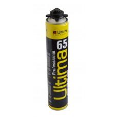 ULTIMA Полиуретановая монтажная пена, проф., 65' 850ml 1005gr, -10 всесезонная,  ПТ-9580