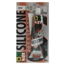 BeLife Санитарный герметик силиконовый прозрачный в тюбике, 50 ml, ПТ-9770
