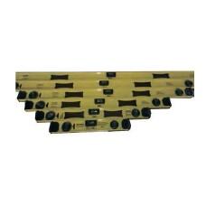 Уровень алюм. двутавровый с ручками, 800мм, 3глазка, 45°,90°, 360°, ТМ'BlackStar', 42-00012