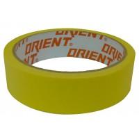Малярная лента желтая Orient 19мм*20 (15/180) ПТ-9800