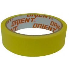 Малярная лента желтая Orient 25 мм*20 (11/132) ПТ-9801