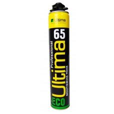 ULTIMA ECO Полиуретановая монтажная пена, проф., 65' 850ml ПТ-9582
