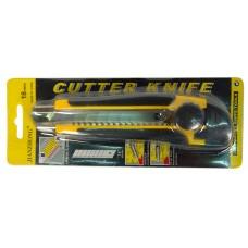 Нож строительный 18мм 'CUTTER KNIFE', ПТ-8303