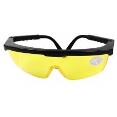 Очки защитные с рег. дужками(желтые)  'BlackStar Safety Line' 16-00016