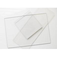 Стекло для маски сварщика прозрачное, 52x102mm 16-00044