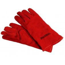 Перчатки замшевые красные (краги) 35см 'BlackStar Safety Line' 70-10200