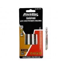 Пилочки для электролобзика T118 A, 5шт, BlackStar 90-10316