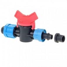 Кран для капельной ленты стартовый с резинкой (SL-003) ПТ-9451