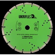 31-23002 Диск алмазный 230*22,2мм Сегмент UKRflex (25/1)