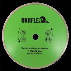 31-23001 Диск алмазный 230*22,2мм Плитка UKRflex (25/1)