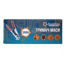 15-00061 Клемма-массы малая 500А, 220мм с обрезиненными ручками BlackStar (100/1)