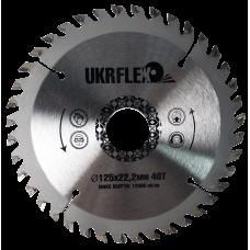 34-12540 Диск пильный по дереву 125*22*40Z с напайкой, BlackStar (200/1)