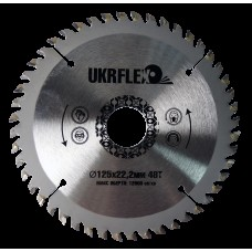 34-12548 Диск пильный по дереву 125*22*48Z с напайкой, BlackStar (200/1)