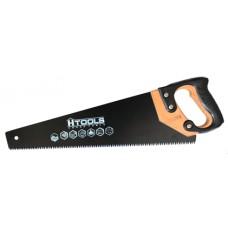 10K409 Ножовка столярная 500 мм, 7TPI MAX CUT, каленый зуб, 3-D, тефл. покр.  HOUSE TOOLS