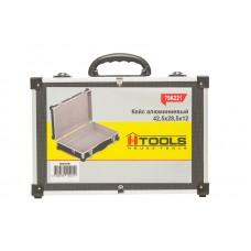 79K221-S Ящик-кейс для инструмента с перегородками, алюминиевый (425*285*12мм) HOUSE TOOLS