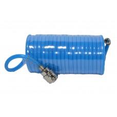 80K177 Шланг спиральный полиуретан., 5,5*8 мм, 10м HOUSE TOOLS