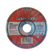 14-11512 Диск отрезной по металлу 115*1,2*22,2 'Red Cut' (25шт)
