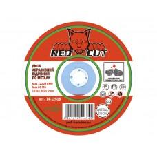 14-12516 Диск отрезной по металлу 125*1,6*22,2 'Red Cut' (25шт)