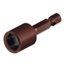 1111-10 Головка 6-гранная д. 10мм с магнит. японская сталь S2 ЦИ