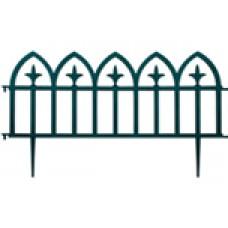 1280 Забор декоративный зеленый 5шт ЦИ