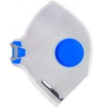 Маска защитная с клапаном  (10шт./упак) ПТ-1001