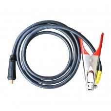 Комплект сварочного кабеля КГНВ (клемма массы 300А), 2м, сечение кабеля 16мм? , разъем 10-25мм ПТ-3700