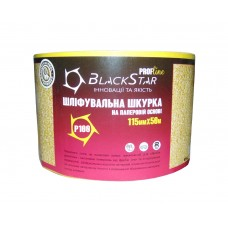 25-11500 Шлифшкурка 115мм*50м Р100 на бумажн. осн. ''BlackStar PROF-Line''