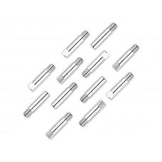 Наконечник 0,8мм E-Cu-Nickel М6 D6мм/L25мм для горелки сварочного полуавтомата ПТ-5676