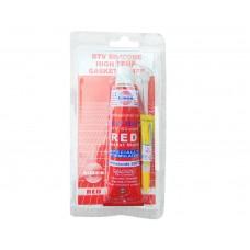 Герметик красный высокотемпературный ASMACO  85 гр ПТ-2140