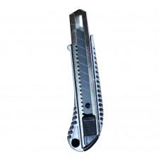 50-18305 Нож строительный, метал. корпус и направляющая, 18 мм BlackStar