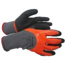 Перчатки M-GLOVE N3405 из трикотажного полиэстера с двойным слоем нитрила, размер 10' ПТ-6031