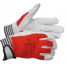 Перчатки DRIVER TECHNIK комбин. из высокачественной кожи и ткани, размер 10' ПТ-6034